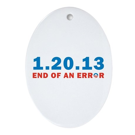 End Of Error Ornament (Oval)