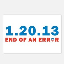 End Of Error Postcards (Package of 8)