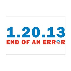 End Of Error Posters