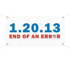 End Of Error Banner