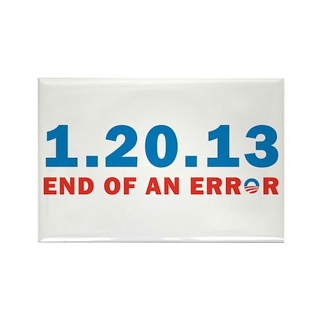 End Of Error Rectangle Magnet (10 pack)