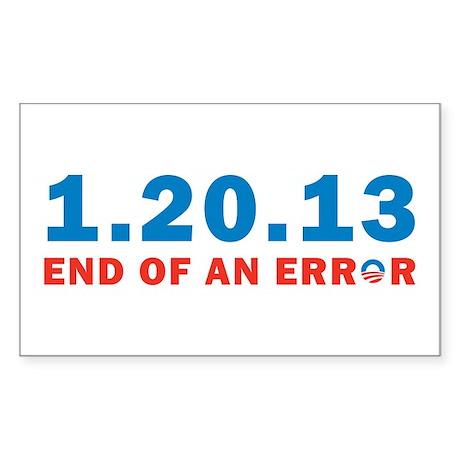 End Of Error Sticker (Rectangle)