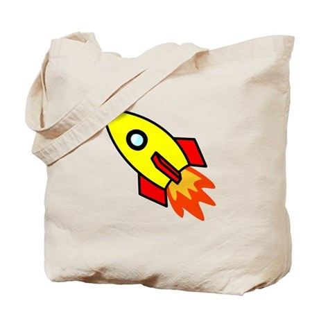 Rocket Tote Bag