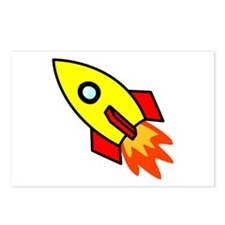 Rocket Postcards (Package of 8)