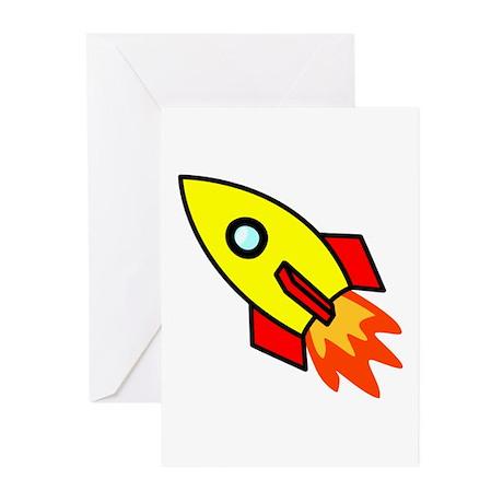 Rocket Greeting Cards (Pk of 10)