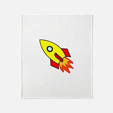 Rocket Throw Blanket