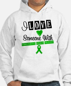 I Love Someone with TBI Hoodie