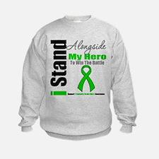 TBI I Stand Alongside My Hero Sweatshirt