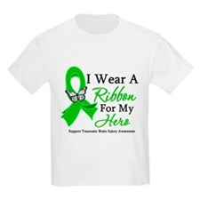 TBI I Wear A Ribbon Hero T-Shirt