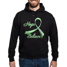 TBI Hope Believe Ribbon Hoodie