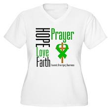 TBI Hope Faith Prayer T-Shirt