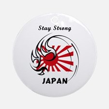 Stay Strong Japan Ornament (Round)