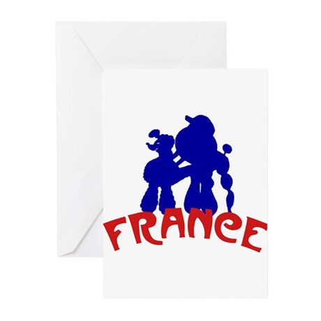 French Greeting Cards (Pk of 20)