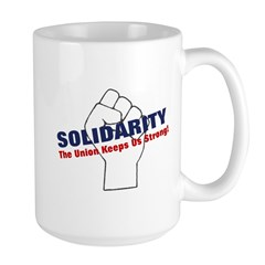 Solidarity - White State - Fi Mug