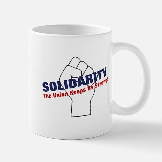 Solidarity - White State - Fi Mug