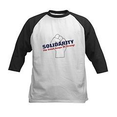 Solidarity - White State - Fi Kids Baseball Jersey