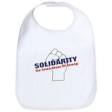 Solidarity - White State - Fi Bib