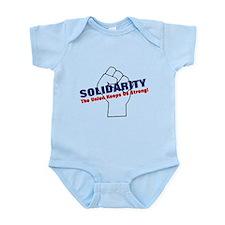 Solidarity - White State - Fi Infant Bodysuit