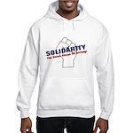 Solidarity - White State - Fi Hooded Sweatshirt