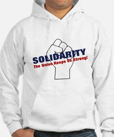 Solidarity - White State - Fi Hoodie