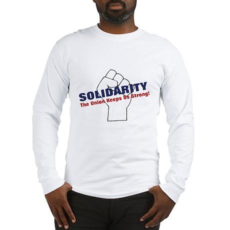 Solidarity - White State - Fi Long Sleeve T-Shirt