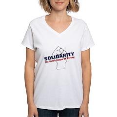 Solidarity - White State - Fi Shirt