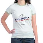 Solidarity - White State - Fi Jr. Ringer T-Shirt