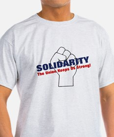 Solidarity - White State - Fi T-Shirt