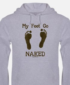My feet go naked Jumper Hoody