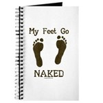 My feet go naked Journal