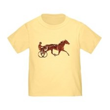 Brown Pacer Silhouette T