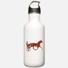 Brown Pacer Silhouette Water Bottle