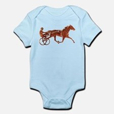 Brown Pacer Silhouette Onesie