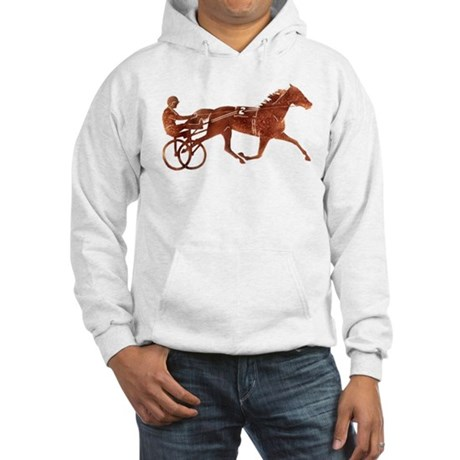 Brown Pacer Silhouette Hooded Sweatshirt