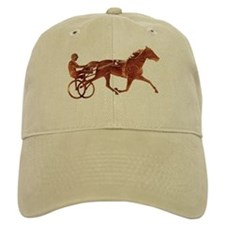 Brown Pacer Silhouette Baseball Cap