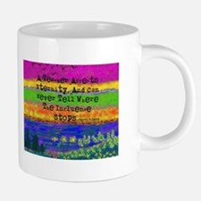 Watercolor Retired TEacher  20 oz Ceramic Mega Mug