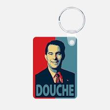 Scott Walker Douche Keychains
