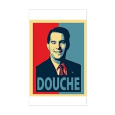 Scott Walker Douche Decal