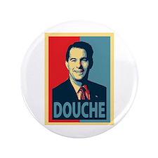 """Scott Walker Douche 3.5"""" Button"""