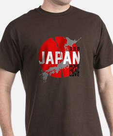 Japan Hope Heal Love T-Shirt