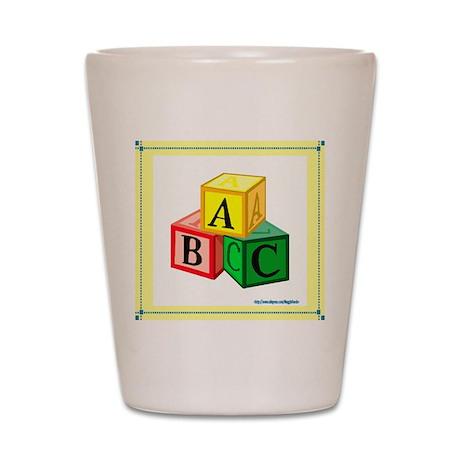 ABCs Shot Glass