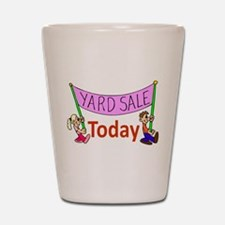 Yard Sale 2 Shot Glass