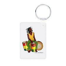 Rasta Talking Drums '08 Keychains