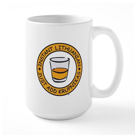 Just Add Krupnikas Large Mug