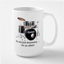 """""""Drums"""" Large Mug"""