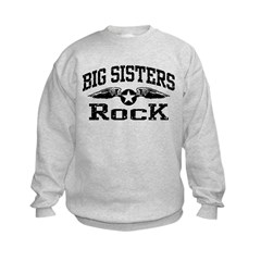 Big Sisters Rock Sweatshirt