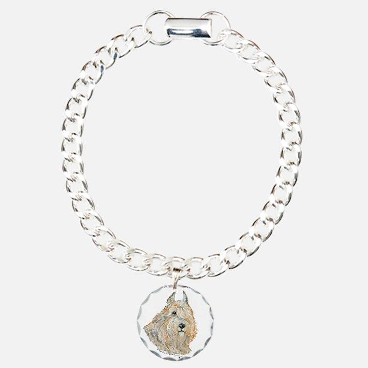 Bouvier des Flandres Wheaten Bracelet