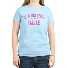 Big Sisters Rule T-Shirt