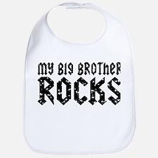 My Big Brother Rocks Bib