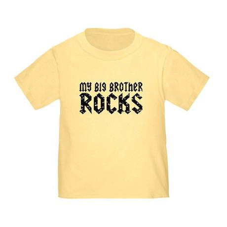 My Big Brother Rocks Toddler T-Shirt